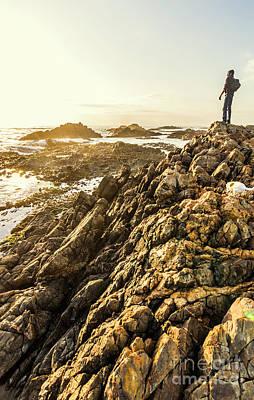 Tropical Sunset Wall Art - Photograph - Backpacking A Tropical Sundown by Jorgo Photography - Wall Art Gallery
