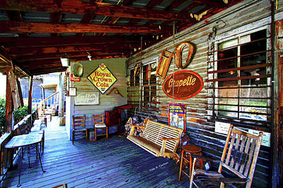 Photograph - Backporch by Dale R Carlson