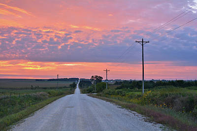 Photograph - Backroad Sunrise by Bonfire Photography