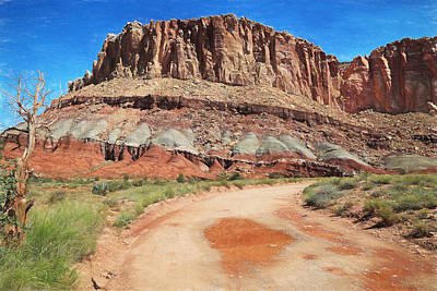 Capital Reef Photograph - Backroads At Capital Reef by Donna Kennedy