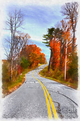 Painting - Backroads Vermont by Edward Fielding
