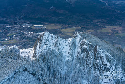 Photograph - Backside Of Mount Si by Mike Reid