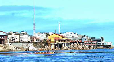 Fishermans Wharf 2 Print by Barbara Snyder