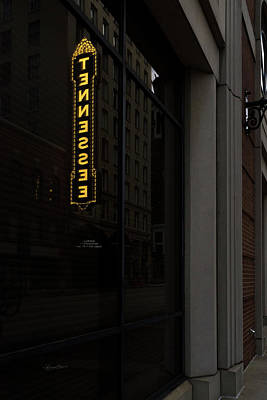 Photograph - Backward Tennessee Marquee by Sharon Popek
