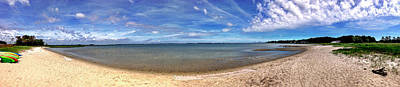 Photograph - Backwater Bay Pano by T Brian Jones