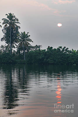 Photograph - Backwaters-kerala by PJ Boylan