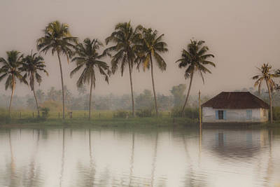 Backwaters Of Kerala Art Print by Andrew Soundarajan