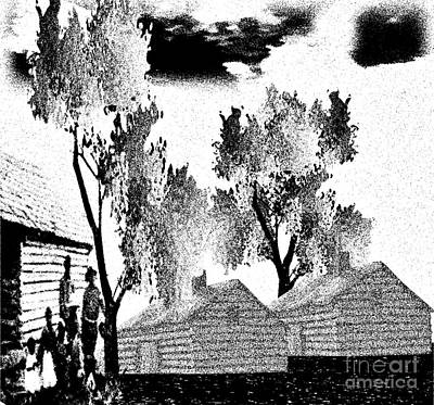 Painting - Backwoods by Belinda Threeths
