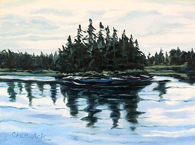 Other Painting - Backwoods Ontario by Phil Chadwick