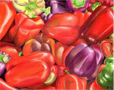 Painting - Backyard Bounty by Ekta Gupta