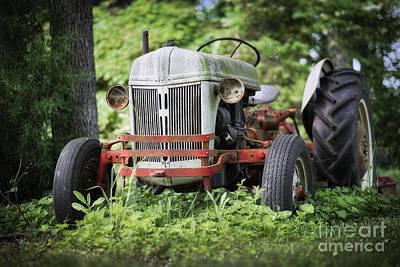 Tractor Photograph - Backyard Ford 8n by Patrick M Lynch
