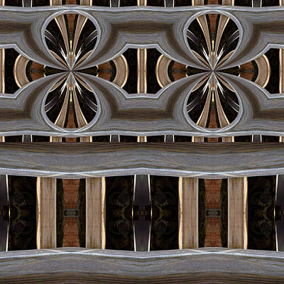 Digital Art - Backyard Lumber by Lori Kingston
