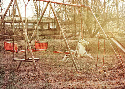 Photograph - Backyard Playground by JAMART Photography
