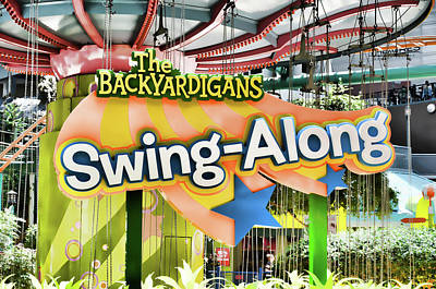 Rollercoaster Painting - Backyardigans Swing-a-long by Lanjee Chee