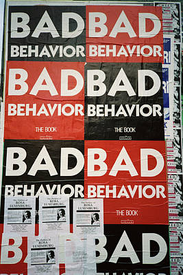 Bad Behavior Art Print