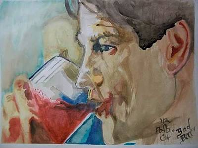 Moyers Painting - Bad Bill by Cindy Helmoski