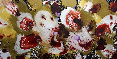 Piranha Painting - Bad Clowns by John Pugh