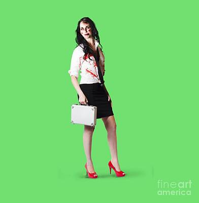 Bad Day At The Office Art Print by Jorgo Photography - Wall Art Gallery