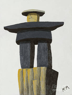 Photograph - Bad Hombre Inuksuk 3 by Garry McMichael