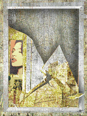 Past Mixed Media - Bad Luck by Tony Rubino