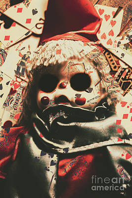 Clown Photograph - Bad Magic by Jorgo Photography - Wall Art Gallery