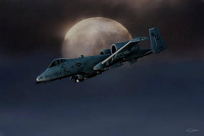 Afghanistan Digital Art - Bad Moon by Peter Chilelli