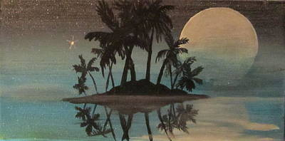 Bad Moon Sparkles   Art Print