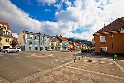Photograph - Bad Sankt Leonhard Im Lavanttal Colorful Streetscape by Brch Photography