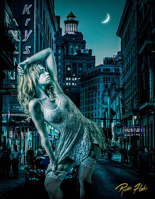 Photograph - Bad Street by Rikk Flohr
