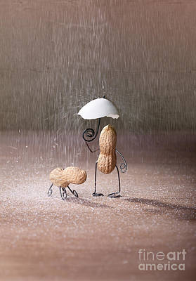 Umbrella Photograph - Bad Weather 02 by Nailia Schwarz