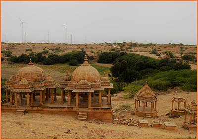 Photograph - Badabagh In Jaisalmer by Sonali Gangane