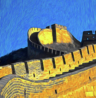 Photograph - Badaling Great Wall by Dennis Cox ChinaStock