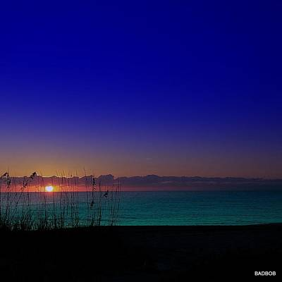 Photograph - Badblue Sunrise  by Robert Francis