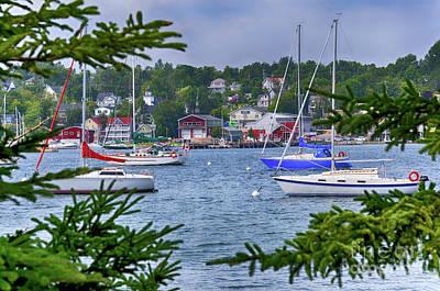 Photograph - Baddeck Nova Scotia  by Elaine Manley