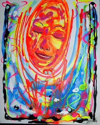 Painting - Baddreamgirl by Robert Francis