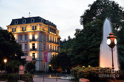 Baden-baden Twilight,germany Original