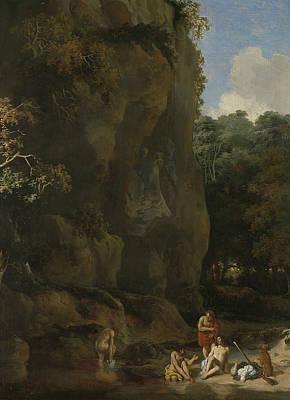 Painting - Badende Mannen by Gerbrand van den Eeckhout