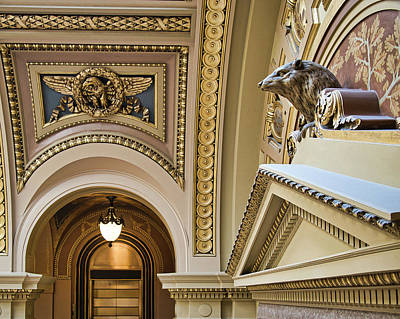 Photograph - Badger -capitol - Madison - Wisconsin by Steven Ralser