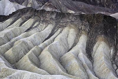 Photograph - Badland Abstractions by Fran Gallogly