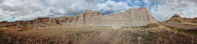 Photograph - Badlands 3 by CA Johnson
