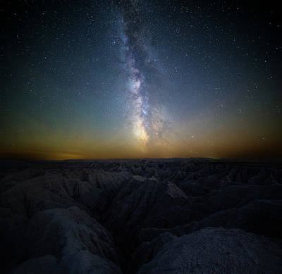 Photograph - Badlands by Aaron J Groen