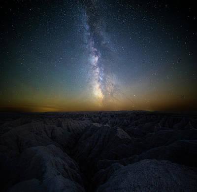 Photograph - Badlands by Aaron J Groen