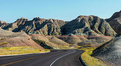 Photograph - Badlands Ahead by Torrey McNeal