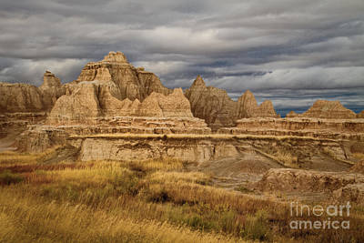 Photograph - Badlands by Alice Cahill