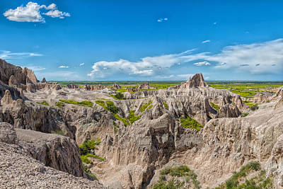 Photograph - Badlands Beauty by John M Bailey