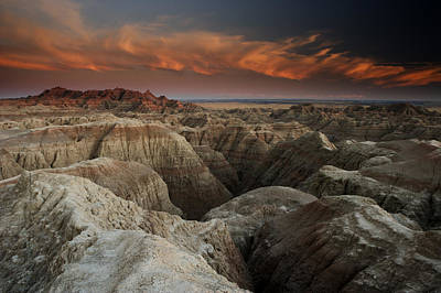 Badlands Art Print by Eric Foltz