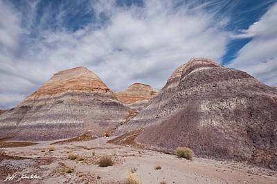 Photograph - Badlands Formation At Blue Mesa by Jeff Goulden