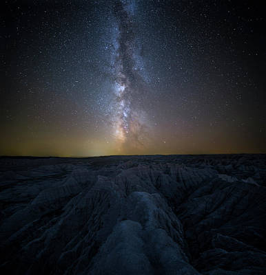 Photograph - Badlands II by Aaron J Groen