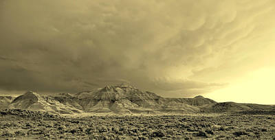 Photograph - Badlands II by David Andersen