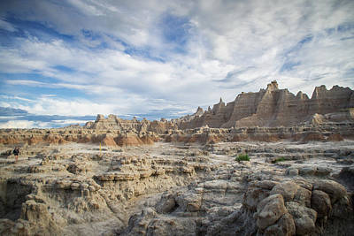 Photograph - Badlands by Jill Laudenslager
